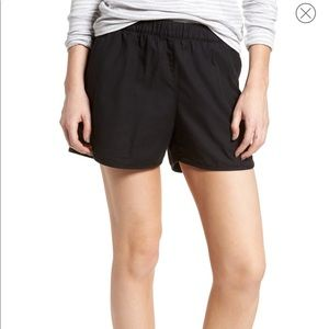 NWOT Madewell elastic shorts with side tie